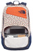 The North Face Wise Guy Backpack orange rust tribal tribute print